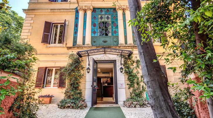 Rome, Hotel Rome Garden, Façade hotel