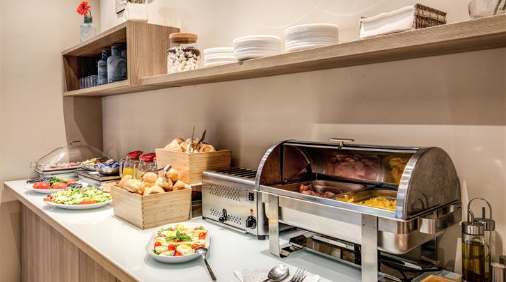 Rome, Hotel Rome Garden, Ontbijtbuffet