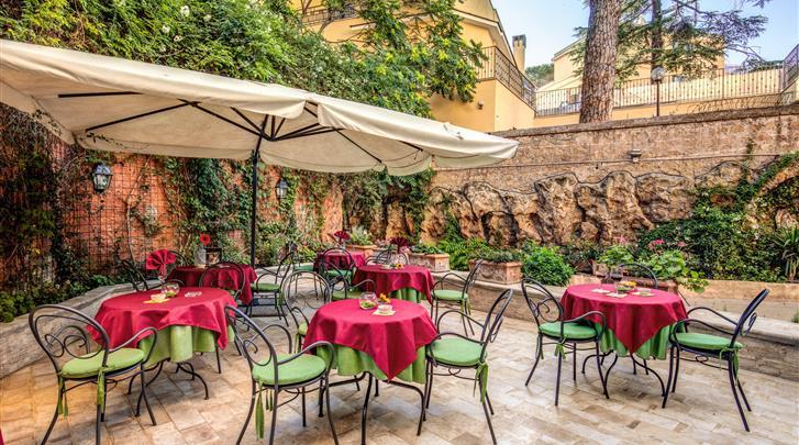 Rome, Hotel Rome Garden, Terras