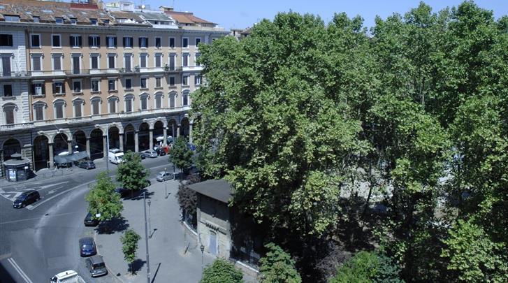 Rome, Hotel Rome Love, Uitzicht