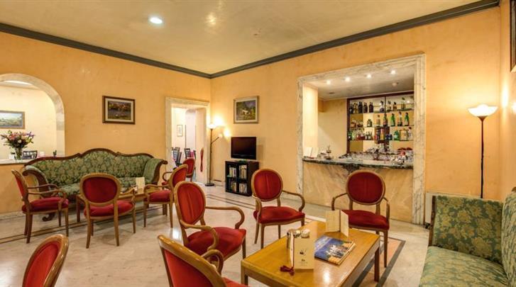 Rome, Hotel San Remo, Lobby