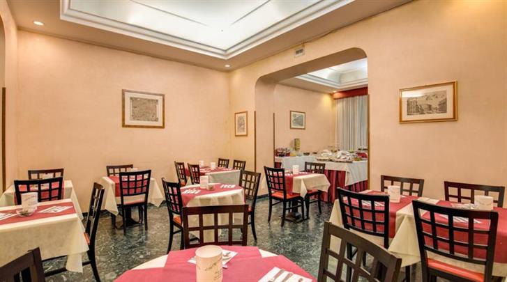 Rome, Hotel San Remo, Restaurant