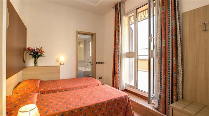 Rome, Hotel San Remo, Standaard kamer