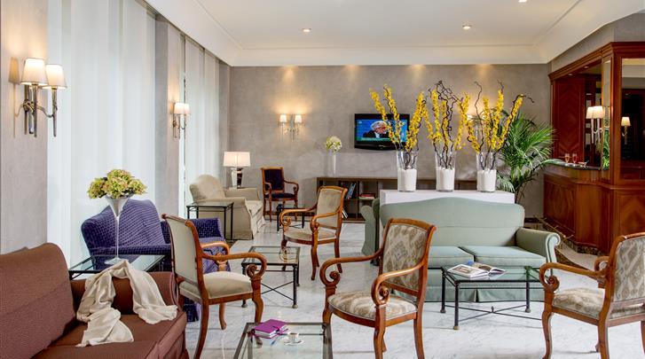 Rome, Hotel Santa Costanza, Lobby