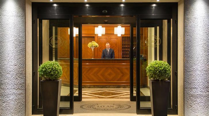Rome, Hotel Santa Costanza, Receptie