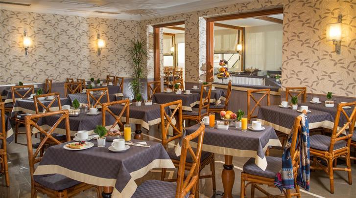 Rome, Hotel Santa Costanza, Restaurant