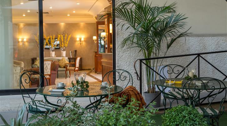 Rome, Hotel Santa Costanza, Terras
