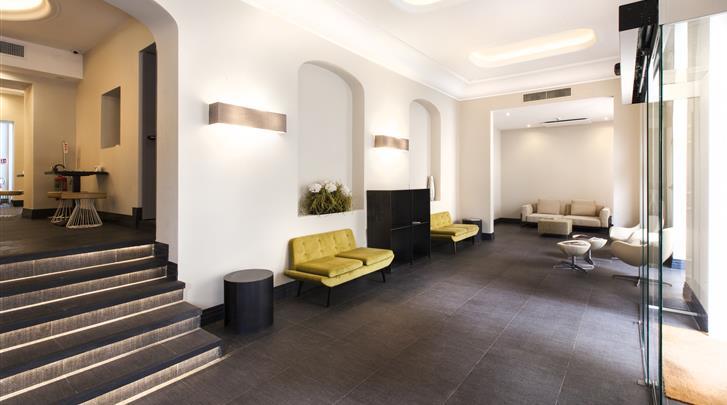 Rome, Hotel The Republic, Lobby