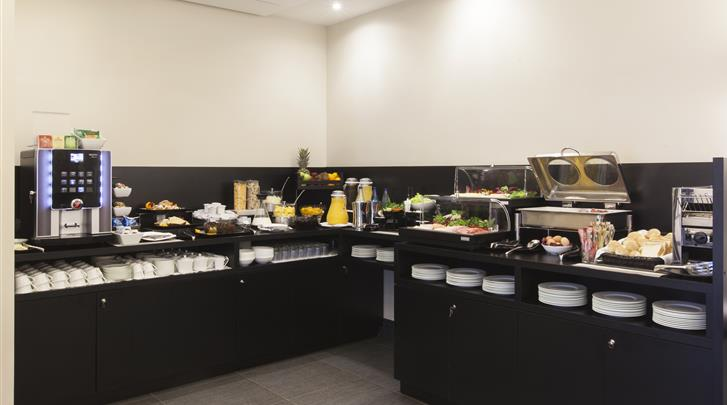 Rome, Hotel Smooth Rome Repubblica, Ontbijtbuffet