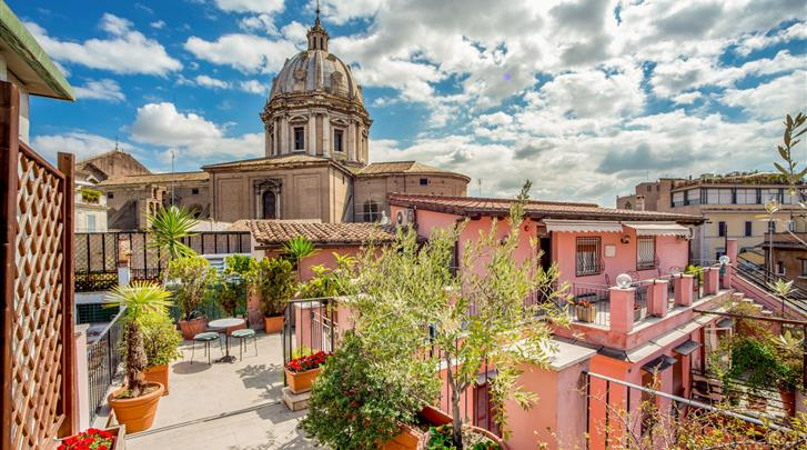 Rome, Hotel Sole Roma, Dakterras panorama