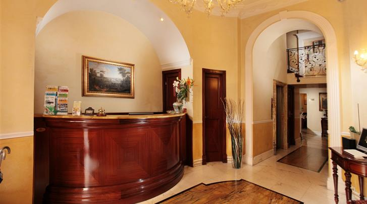 Rome, Hotel Solis, Receptie