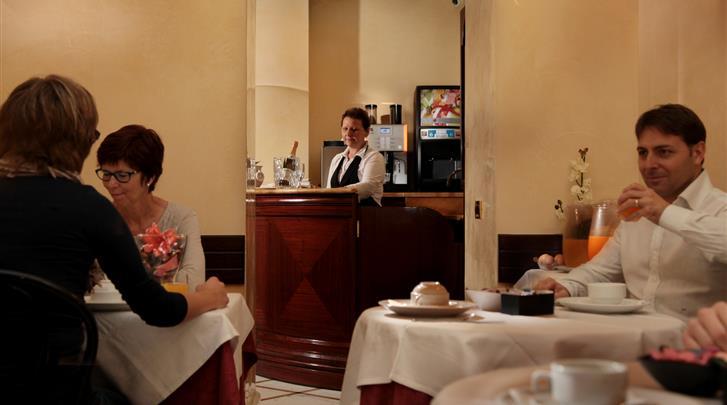 Rome, Hotel Solis, Restaurant