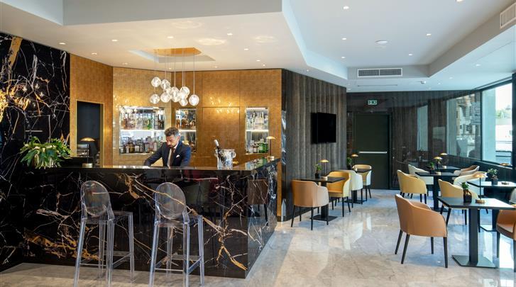 Rome, Hotel St. Martin, Hotelbar