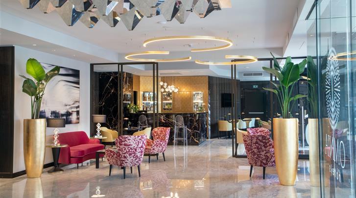 Rome, Hotel St. Martin, Lobby
