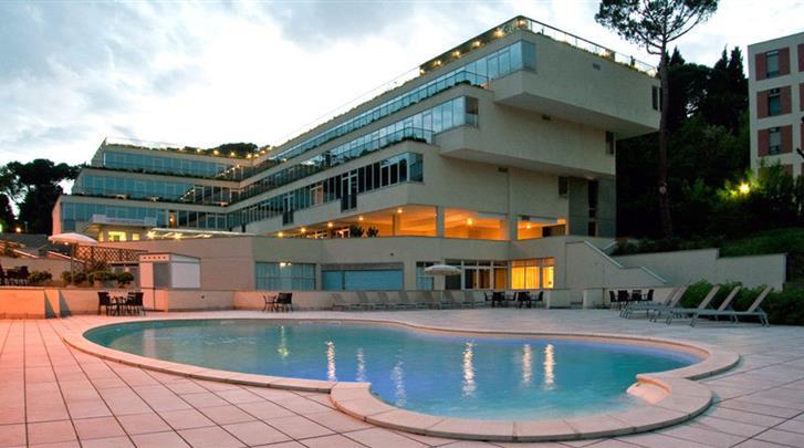 Rome, Hotel St. Peter Cardinal, Zwembad