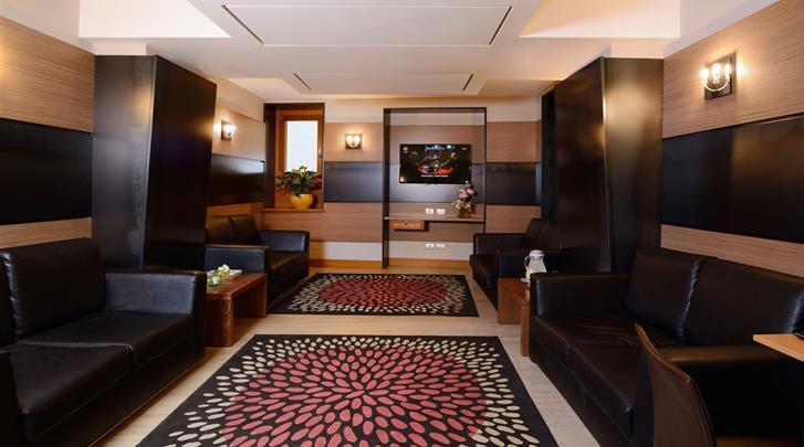 Rome, Hotel Trevi, Lobby