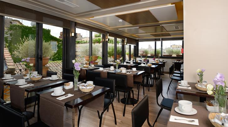 Rome, Hotel Trevi, Restaurant