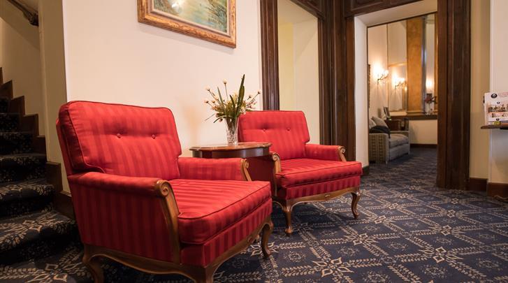 Rome, Hotel Villa delle Rose, Lobby
