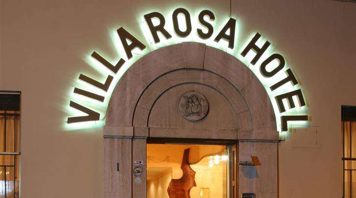Rome, Hotel Villa Rosa, Façade hotel