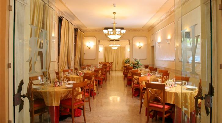 Rome, Hotel Villa Rosa, Restaurant