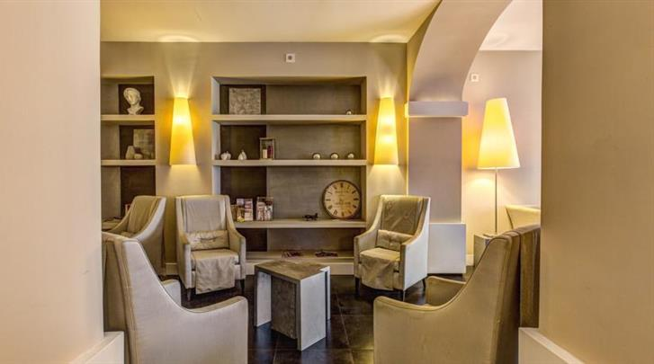 Rome, Hotel Villafranca, Lobby