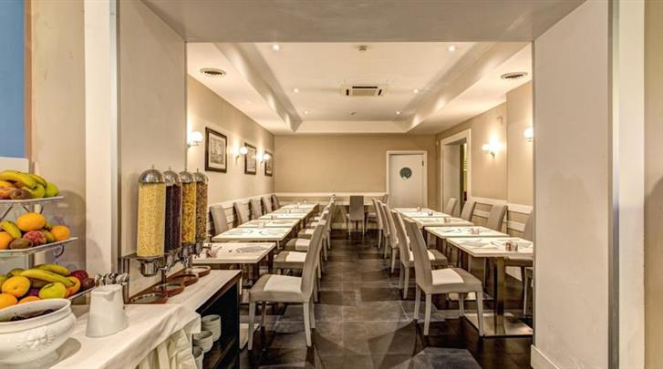 Rome, Hotel Villafranca, Restaurant