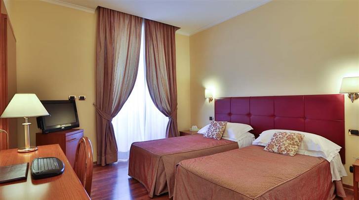 Rome, Hotel Villafranca, Standaard kamer