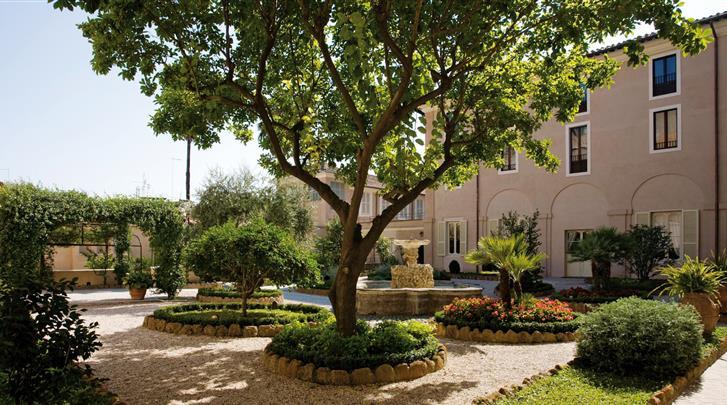 Rome, Hotel VOI Donna Camilla Savelli, Tuin