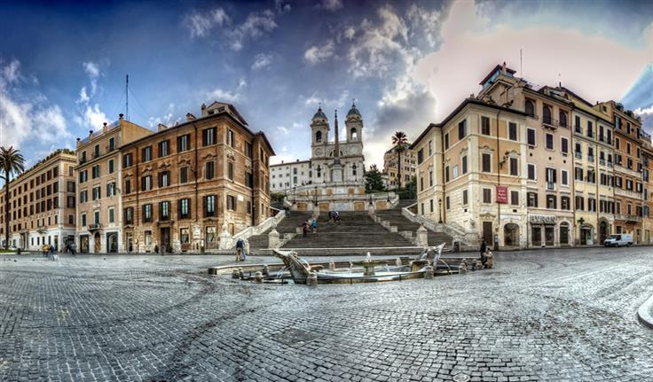 Rome, Spaanse Trappen