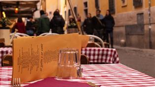 Rome, Sfeer restaurant Rome