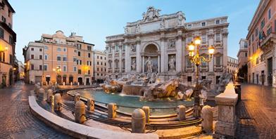 Rome, Trevi Fontein