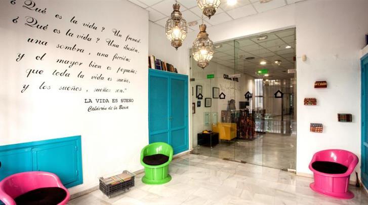 Sevilla, Hotel Casual Sevilla de las Letras, Lobby