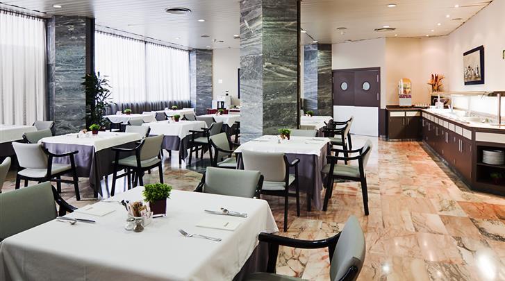 Sevilla, Hotel Catalonia Giralda, Restaurant