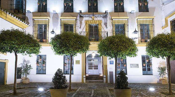 Sevilla, Hotel Las Casas del Rey de Baeza, Façade hotel