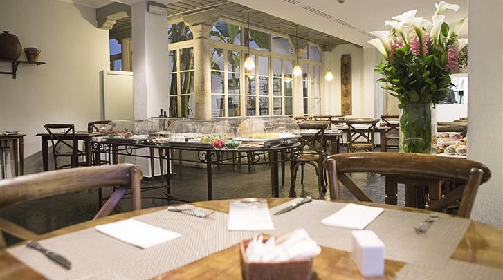 Sevilla, Hotel Las Casas del Rey de Baeza, Restaurant