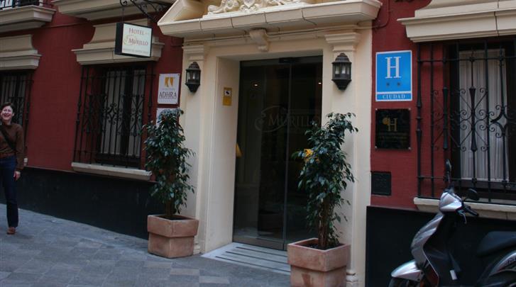 Sevilla, Hotel Murillo, Façade hotel