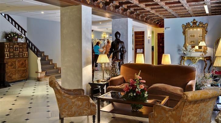 Sevilla, Hotel Murillo, Lobby