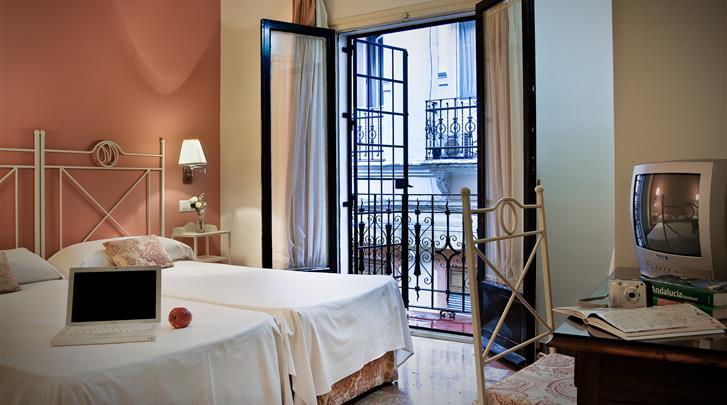Sevilla, Hotel Murillo, Standaard kamer