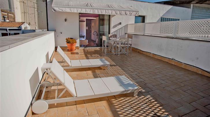 Sevilla, Hotel Petit Palace Marques Santa Ana, Dakterras