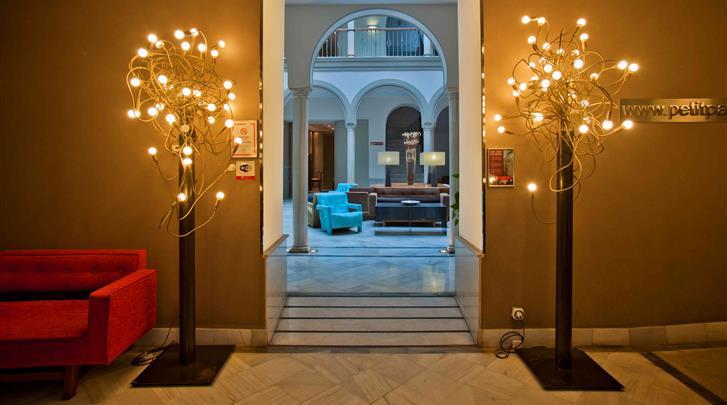 Sevilla, Hotel Petit Palace Marques Santa Ana, Lounge