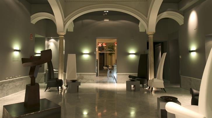 Sevilla, Hotel Petit Palace Santa Cruz, Hal