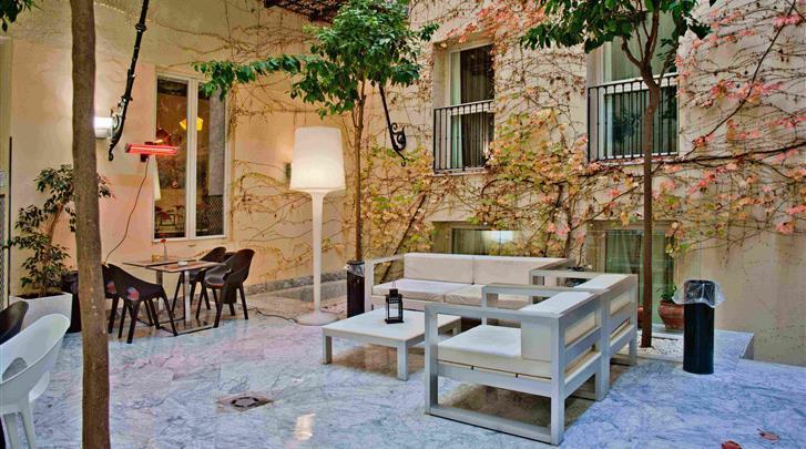 Sevilla, Hotel Petit Palace Santa Cruz, Patio