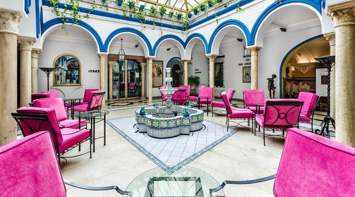 Sevilla, Hotel Sevilla Macarena, Lobby