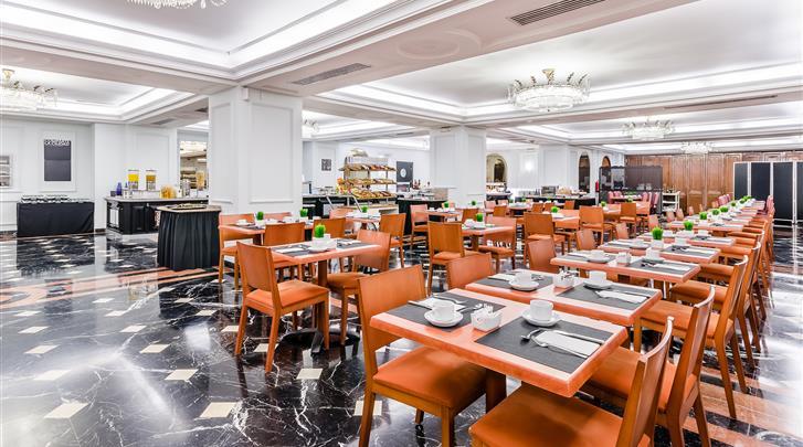 Sevilla, Hotel Sevilla Macarena, Ontbijtruimte