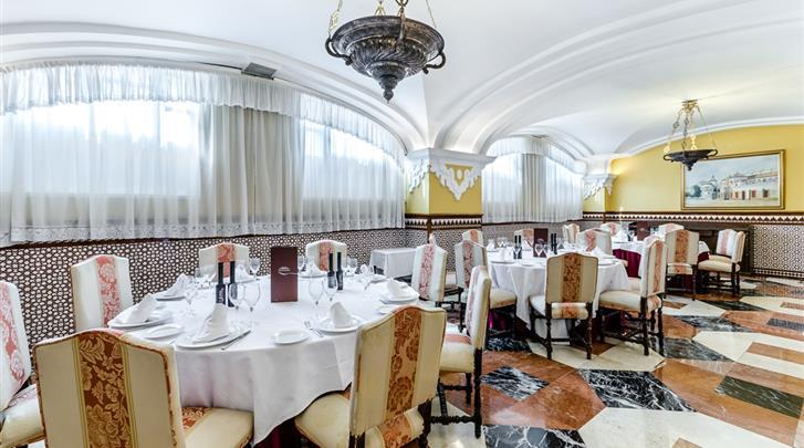 Sevilla, Hotel Sevilla Macarena, Restaurant
