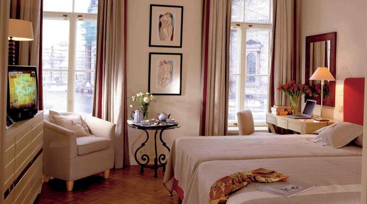 St. Petersburg, Hotel Angleterre, Deluxe kamer