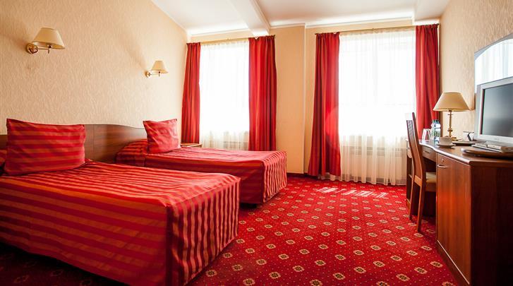 St. Petersburg, Hotel Asteria, Standaard kamer