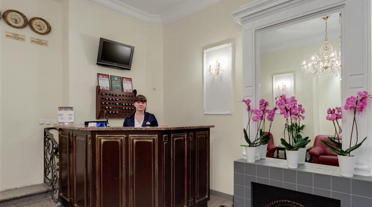 St. Petersburg, Hotel Atrium, Receptie