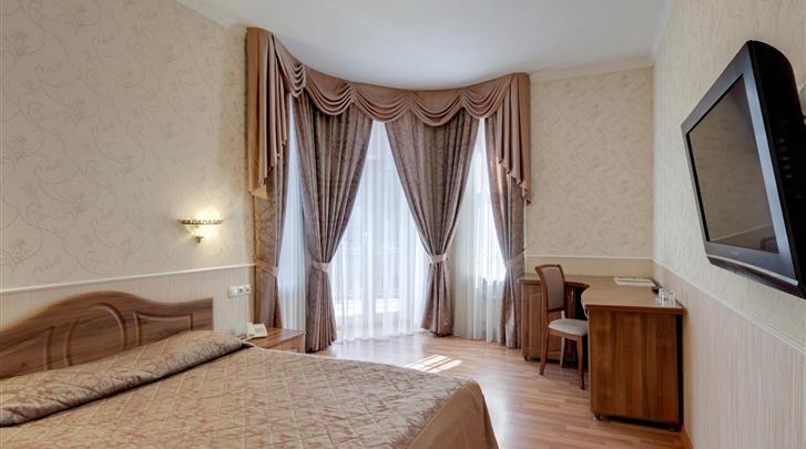 St. Petersburg, Hotel Atrium, Standaard kamer