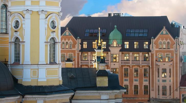 St. Petersburg, Hotel Dostoevsky, Façade hotel